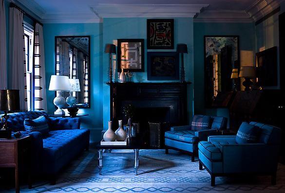 Dark Blue And Black Bedroom dark blue and black bedrooms - magiel