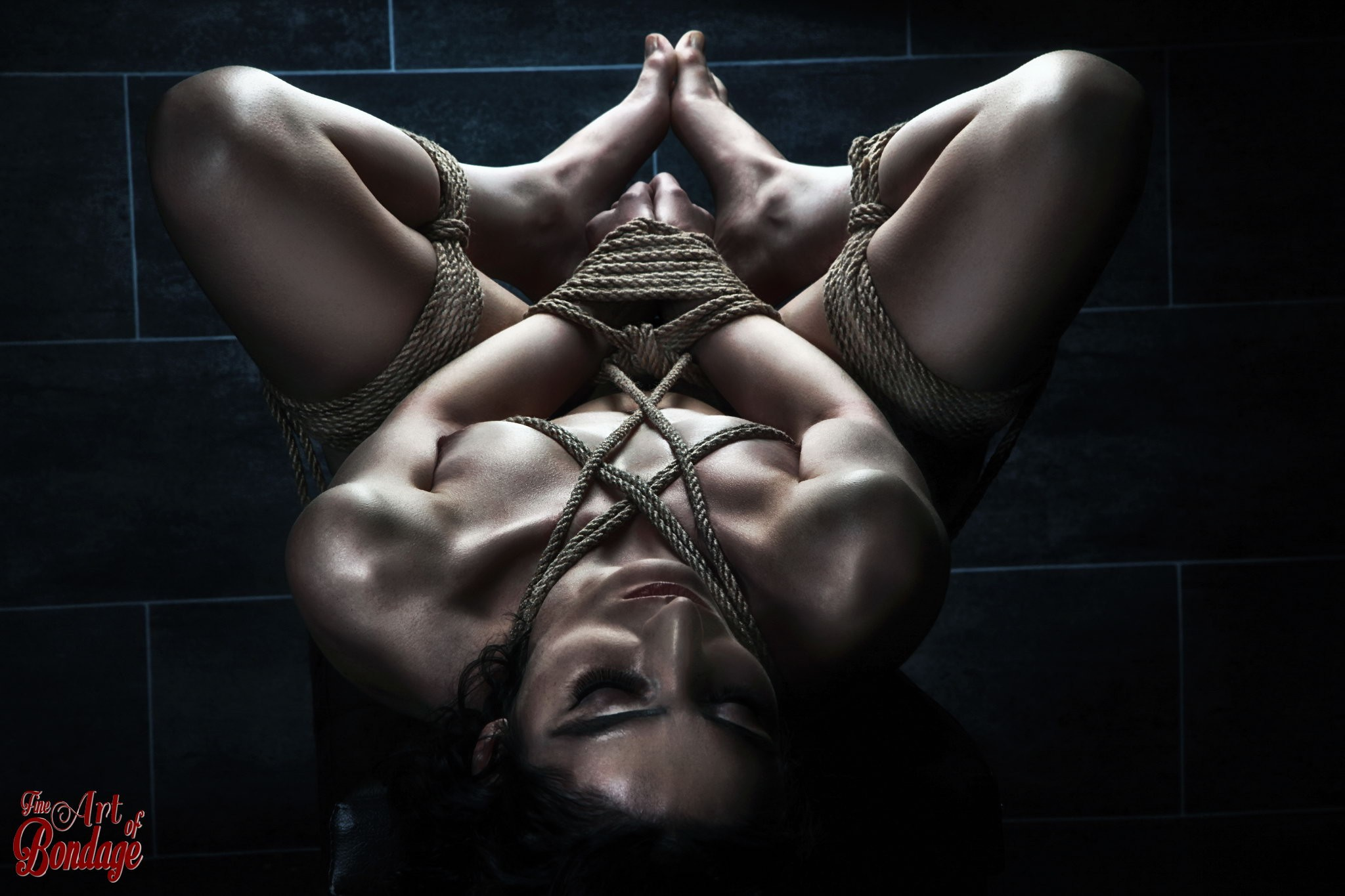 Nude tied up art 7