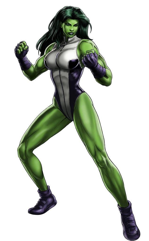 She-Hulk; Going Native