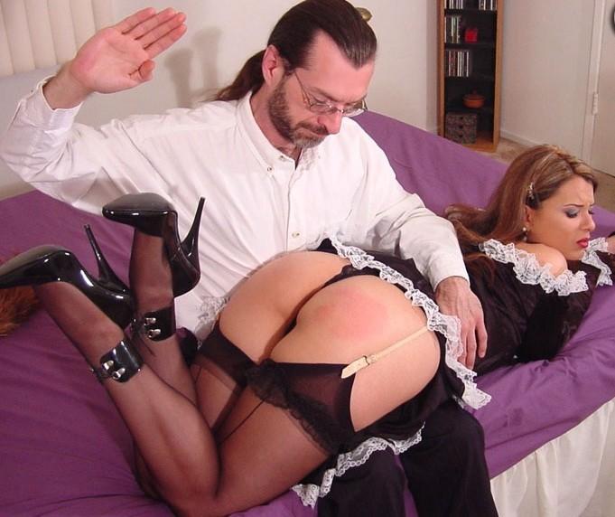 прислуги эротика смотреть наказание