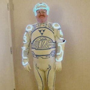 Dad's Transformation Suit!