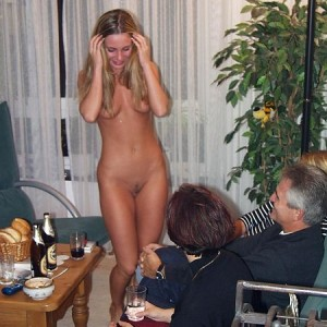 Stripped by Family