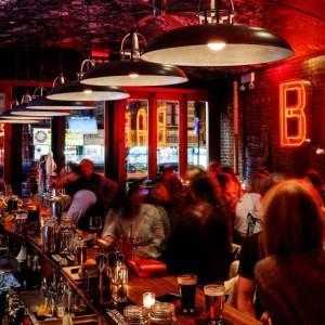 Birthday Bottom Boy's Blackout Bar-night