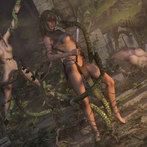 Lust of the jungle flesh
