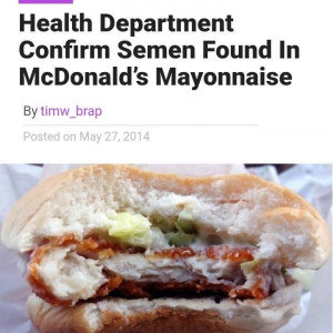 The Burger Ejaculator