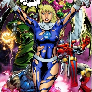 Invisible Woman in the Negative Zone