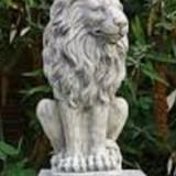 Bemalung des Löwen