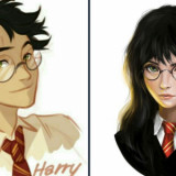 Harry Potter as A Girl